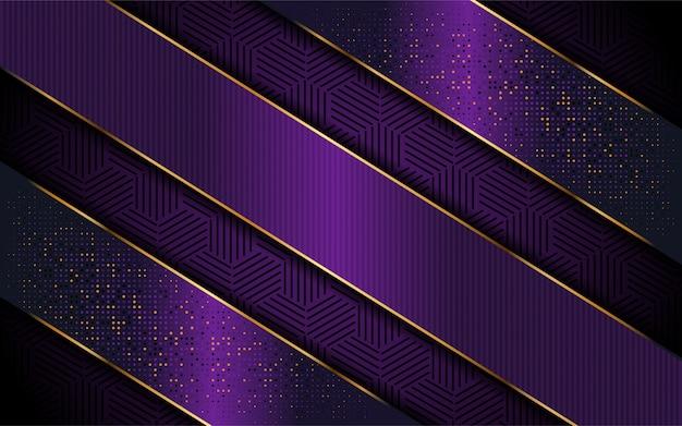 Elegante paarse achtergrond met luxe lijnvorm