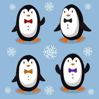 Elegante pinguïns
