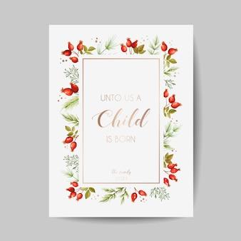 Elegante prettige kerstdagen en nieuwjaar 2021-kaarten met dennentakken, heilige bessen, maretak, winter bloemenplanten ontwerp illustratie voor groeten, uitnodiging 2020, flyer, brochure, omslag in vector