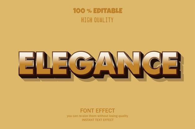 Elegante tekst, bewerkbaar lettertype-effect