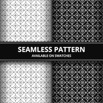 Elegante traditionele batik naadloze patroon achtergrond. luxe en klassiek motief voor achtergrondbehang.