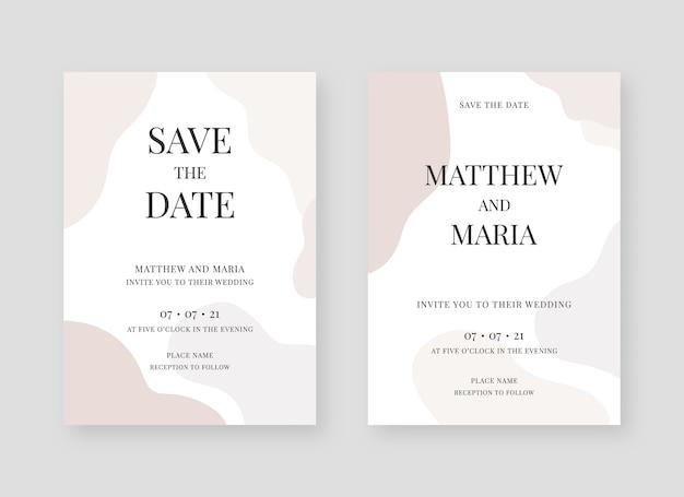Elegante uitnodigingskaartcollectie