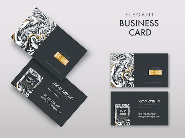 Elegante visitekaartjes