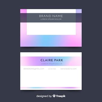 Elegante visitekaartjesjabloon