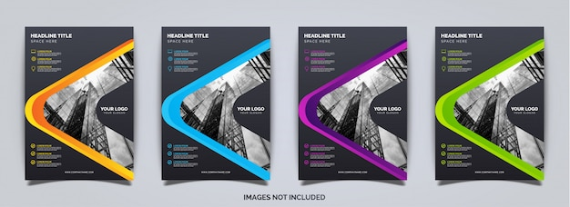 Elegante zakelijke brochure sjabloon
