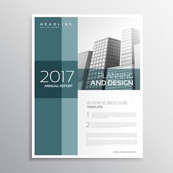 Elegante zakelijke folder template ontwerp in a4-formaat