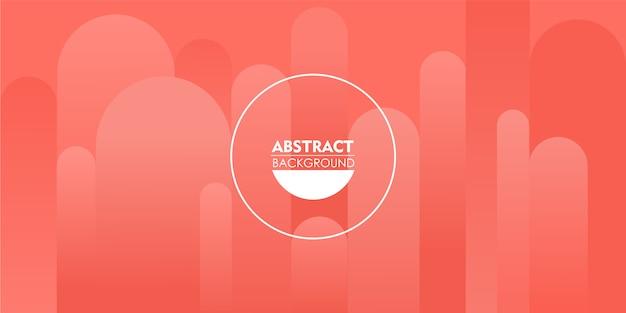 Elegantie koraal kleurenpatroon abstracte achtergrond.