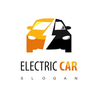 Elektrisch auto-logo