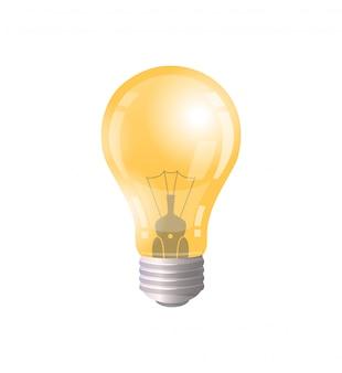 Elektrisch bolsymbool van bedrijfsideepictogram