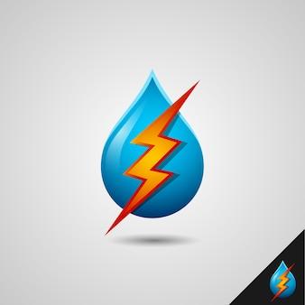 Elektrisch vloeibaar symbool