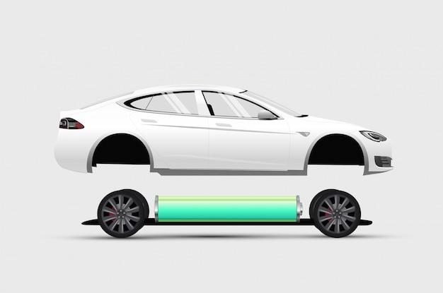 Elektrische auto constructie