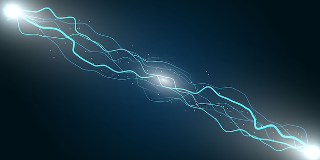 Elektrische bliksem donder