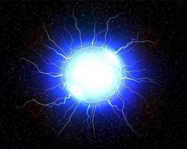 Elektrische bliksembal.