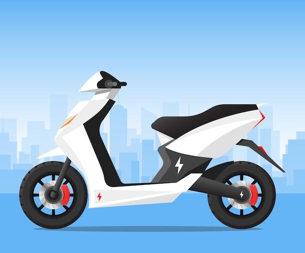 Elektrische scooter city transportation bike motorcycle