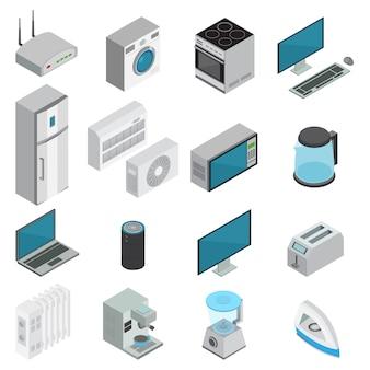 Elektronica isometrische set