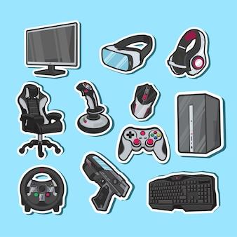 Elektronische apparatuur voor comfortabeler gamen