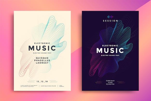Elektronische muziekposters