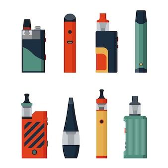 Elektronische sigaretten en vape set e-sigaret voor vapen verschillende ontwerpen vape-pennen en pod-mods