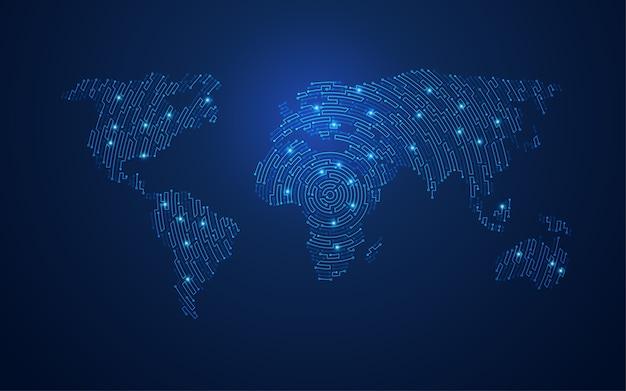 Elektronische wereld