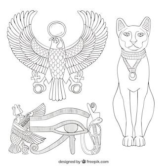 Elementen van het oude egypte