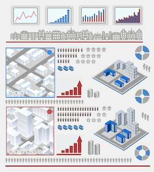 Elementen voor infographic