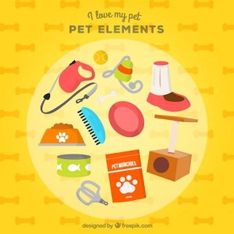 Elementen voor mijn lieve huisdier