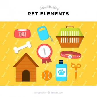 Elementen voor uw huisdier