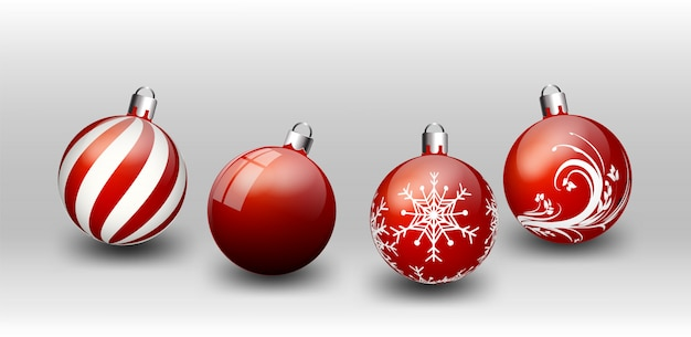 Elements christmas witte achtergrond black friday happy new year kaarten rood