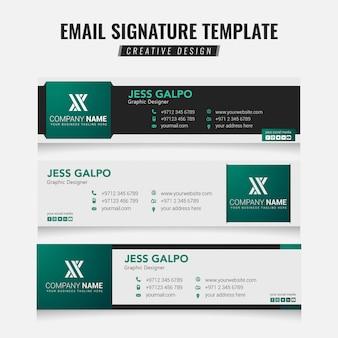 Email handtekening