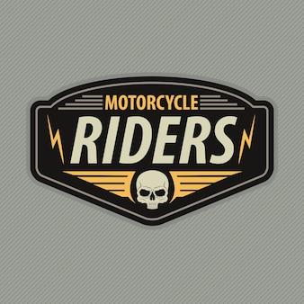 Embleem voor motorracen