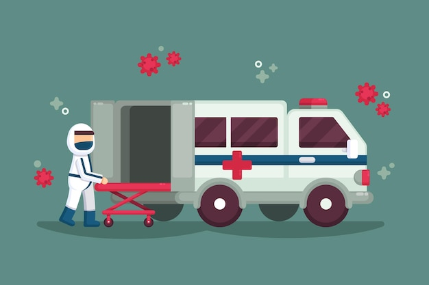 Emergency ambulance concept