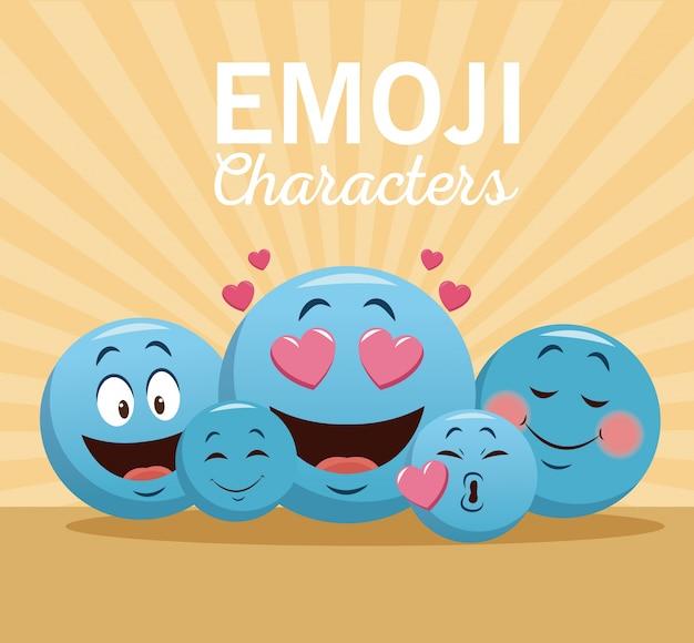 Emoji-chatpersonages