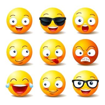 Emoji ingesteld