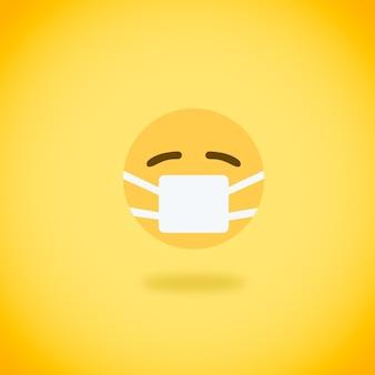 Emoji met masker
