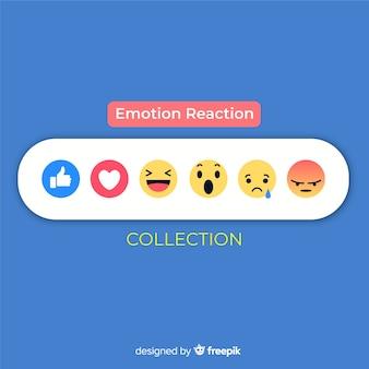 Emoticon-reactieverzameling
