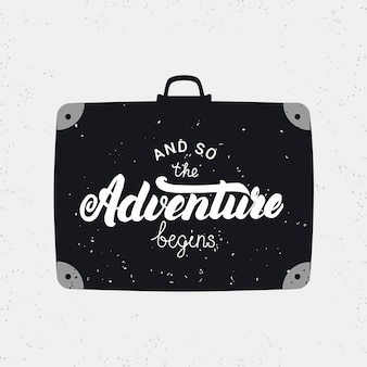 En zo begint het avontuur met kaart.