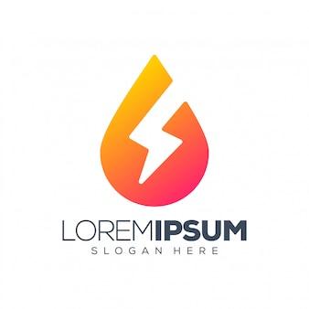 Energie logo illustratie