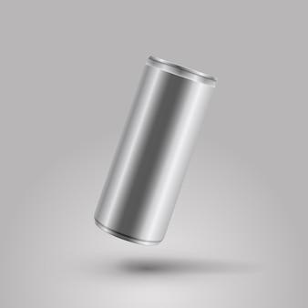 Energiedrank kan vectormodelillustratie