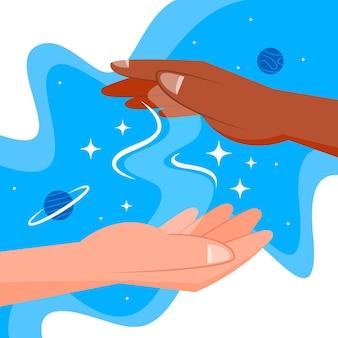 Energiehelende handen