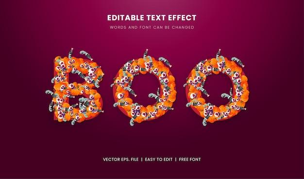 Eng halloween-teksteffect