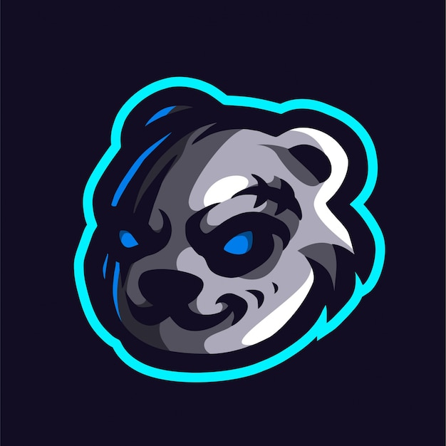 Eng panda e-sport logo