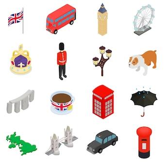 Engeland pictogrammen instellen