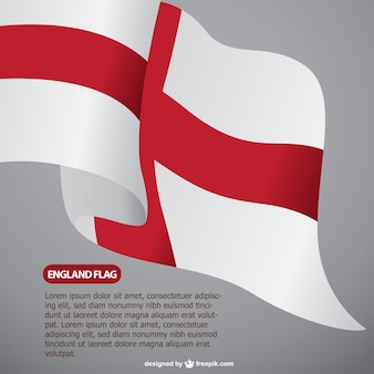 Engeland vlag vrij template