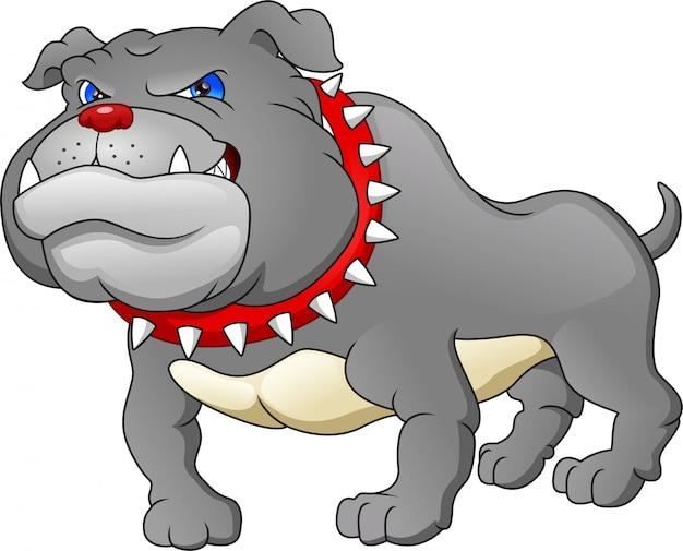 Engels bulldog cartoon