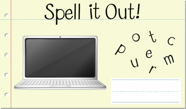 Engelse woordcomputer spellen