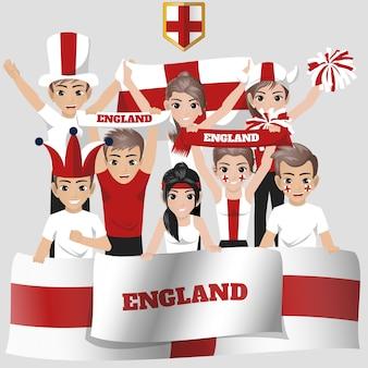 England national team supporter