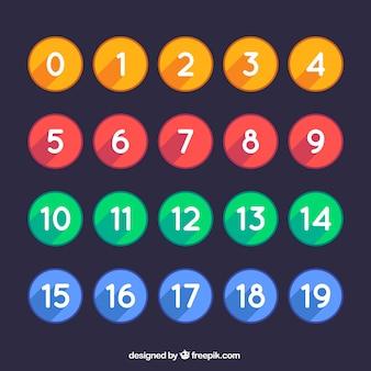 Enorme verzameling van nummers