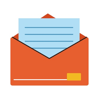 Envelop e-mail openen verzendpictogram