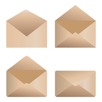 Envelop pictogrammen