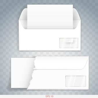 Envelop van papier of karton